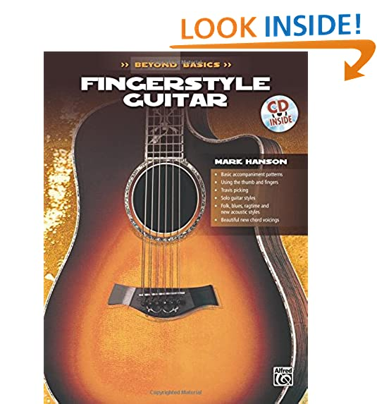 Music Books for Fingerstyle Guitar