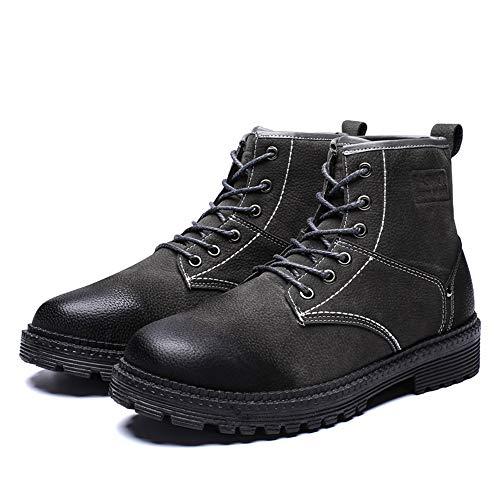 Nero Nero EU Daily Stivali Lavoro Dimensione Color Color Men Caviglia for Boots Martin 41 Casual Grigio for da Moda Comodi all alla Stivaletti Occasions alla UvwI61q