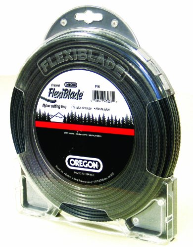 Oregon 21-600 FlexiBlade 175-Feet Donut of String Trimmer Line 0.099-Inch Gauge ()