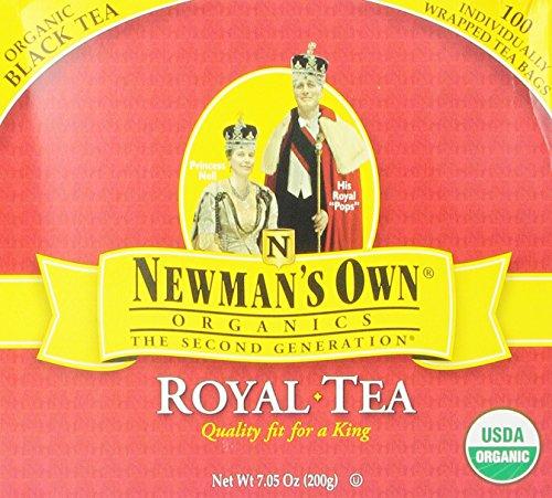 OwnOrganics thé Royal de Newman, Organic thé noir, 100 Sachets de thé emballés individuellement, les boîtes de 7,05 once (Pack de 5)