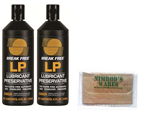 2-Pack-Break-Free-Firearm-LP-Lubricant-Preservative-4-oz-LP-4-Nimrods-Wares-Microfiber-Cloth