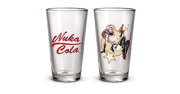 Amazon.com: Fallout Nuka Cola - Juego de 2 vasos de pinta ...