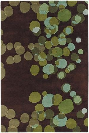 Avalisa Green - Chandra AVALISA AVL-6109 Rug - 5'x7'6