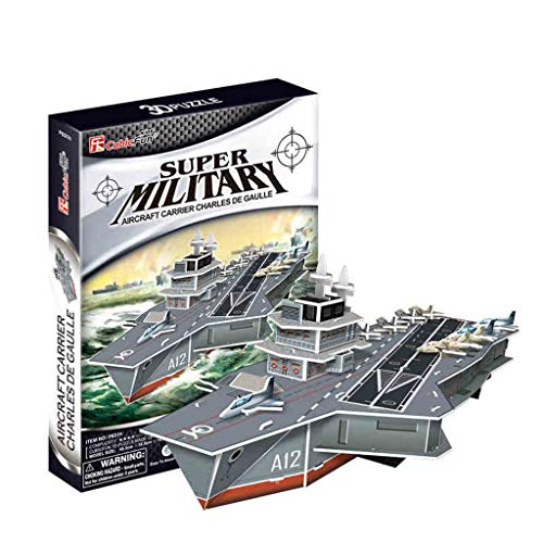 LUGEUK Aircraft Carrier Puzzle Model 3D Model Kits (Size : B)