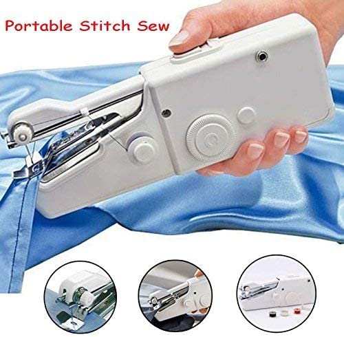 Kids Cloth Clothing Home Travel Use Portable Smart Mini Electric Tailor Stitch Hand-held Sewing Machine Household Tool for Fabric