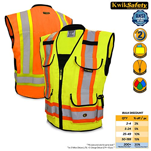 2 Two Tone Safety Vest - 3