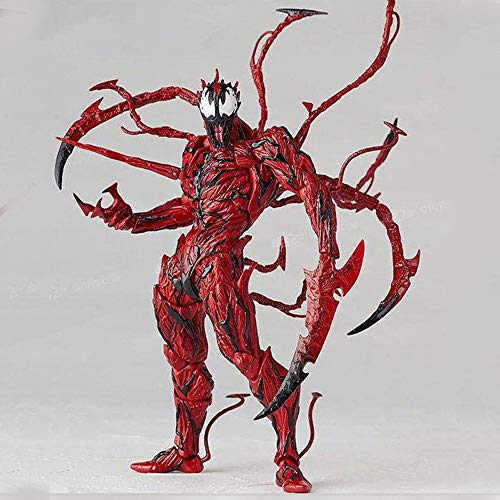 RUISHOU Iron Spiderman, with Bracket, Joint Movable, Toy Doll, About 17cm/6.69 Inches, Suitable for Children Over 5 Years Old ()