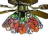 Meyda Tiffany 27482 Iris Fan Light Shade - 5
