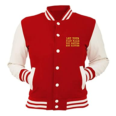 Speed Shirt Chaqueta de Universidad roja T0511 You Better ...