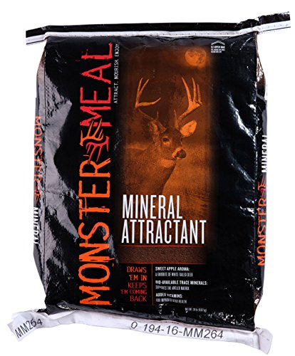 MONSTERMEAL Mineral ATTRACTANT (20) (Best Deer Supplement Feed)