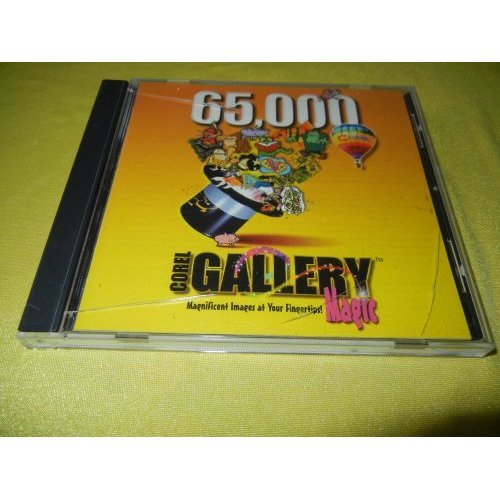 Corel Gallery Magic 65,000