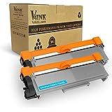 V4INK 2-Pack New Compatible Brother TN630 TN660 Toner Cartridge Black for Brother HL-L2340DW HL-L2300D HL-L2380DW MFC-L2700DW L2740DW DCP-L2540DW L2520DW HL-L2320D MFC-L2720DW L2740DW Printer