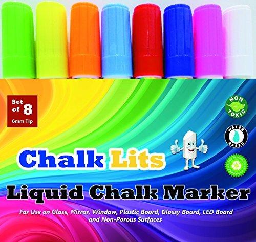 Liquid Chalk Markers Window Paint Pens. Unique Quality Re...