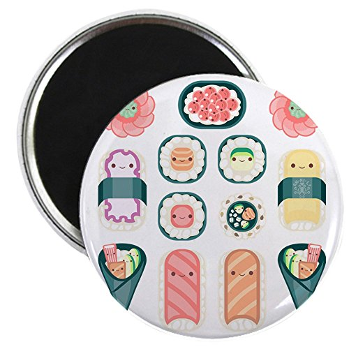 CafePress Sushi Magnet Refrigerator Button