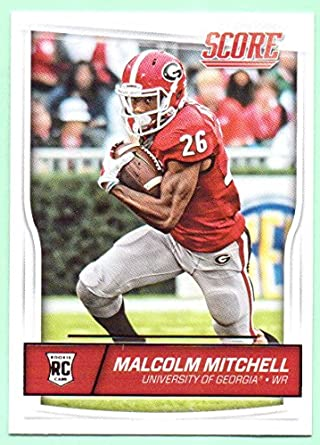 79a5971beea Malcolm Mitchell 2016 Score Rookie #429 - New England Patriots at ...