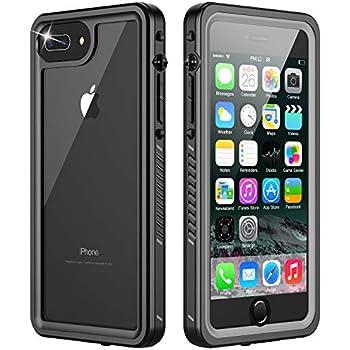 Amazon.com: iPhone 7 Plus Waterproof Case,iPhone 8 Plus ...