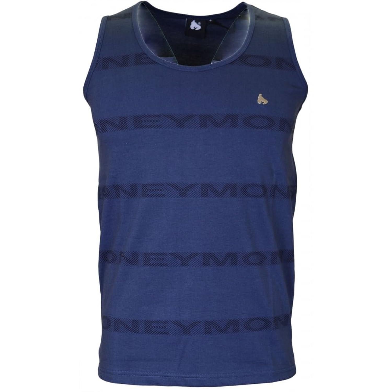 Money Clothing Repeat Arrow Navy Vest