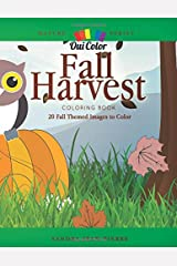 Fall Harvest: 20 Fall Harvest Images to Color (Nature) Paperback