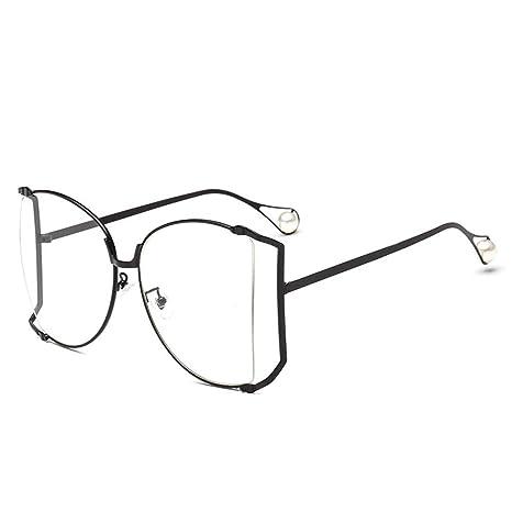 ZZCH Gafas de Sol con Montura Grande, Gafas de Sol de ...