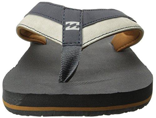 Billabong Mens All Day Impact Supreme Cushion EVA Footbed Sandal Flip Flop Charcoal 4DpvLwv0Vs