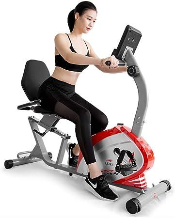 Bicicleta silenciosa de Fitness Bicicleta retráctil para ...