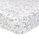 Best Crib Sheet For Woodlands - Just Born 100% Cotton Fitted Crib Sheets, Woodl Review