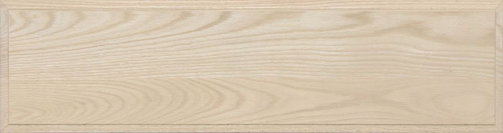 Unfinished Oak Flat Drawer Front with Edge Detail by Kendor, 9H x 34W Kendor Wood Inc.