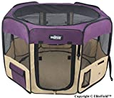 EliteField 2-Door Soft Pet Playpen - Exercise Pen - Multiple Sizes and Colors Available for Dogs - Cats and Other Pets (62