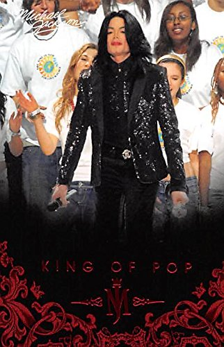 Michael Jackson trading card 2011 King of Pop #25 2006 World Music Awards from Autograph Warehouse
