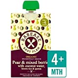 Babease Organic Pear & Mixed Berries, Coconut Water, Brown Rice & Quinoa 100g - Pack of 2