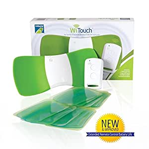 WiTouch Wireless TENS Device - Includes 10 Gel Pads (5 Pairs of gel pads)