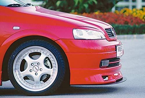 Rieger Spoilerschwert matt schwarz gerade f/ür Spoilerlippe 51101 f/ür Opel Astra G