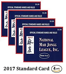 Selective image within national mah jongg league card printable