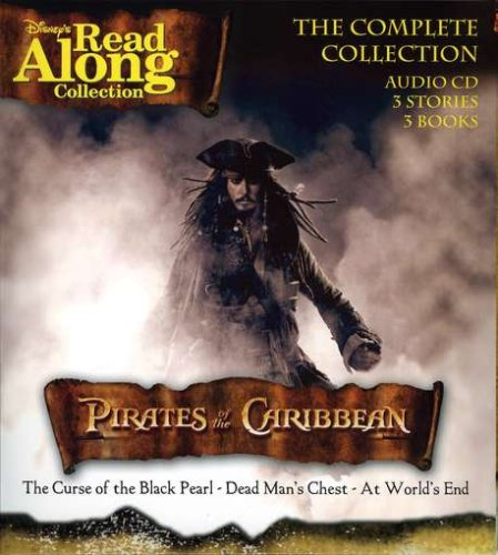 Disney Pirates of the Caribbean Complete Collection Audio CD (3 Stories and 3 Books)