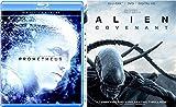 Film Series Ridley Scott Alien Covenant double Feature Sci-Fi + Prometheus Movie Set