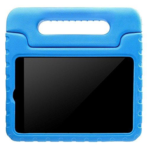 AVAWO Apple iPad Mini Kids Case - Light Weight Shock Proof Handle Stand Kids for iPad Mini, iPad Mini 3rd Generation, iPad Mini 2 with Retina Display - Blue