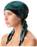 Casual Nights Women's Pretied Printed Fitted Headscarf Chemo Bandana