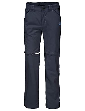 5225394a81ca2 Jack Wolfskin Children's Safari Zip Off Pants Trousers: Amazon.co.uk:  Clothing