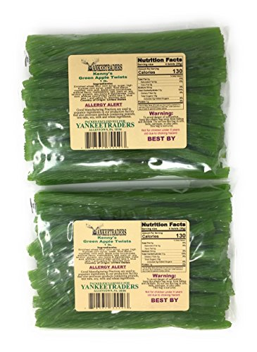 Green Apple Licorice Twists - 2 LBS ()