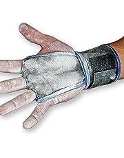 مقابض يد من جيرك فيت ووديز مع أربطة معصم لرفع الأثقال، وسحب، والتدريب المتقاطع، والرياضي، والرياضة، تمنع البثور والتمزق، للرجال والنساء