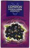 London Fruit & Herb Company Tea, Black Currant Bracker, 20 Count