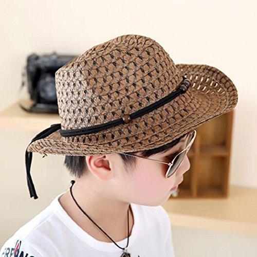81650aaeda1679 Amazon.com: ShenPourtor Women/Men's Summer Cool Short Brim Straw Fedora Sun  Hat WIth Stylish Hat Band (Baby_Purple): Toys & Games