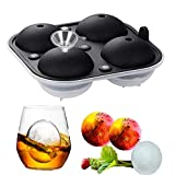 Ice Ball Mold, VSTYLE Silicone Ice Cube Tray Sphere Round Ice Ball Maker