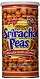Hapi Snacks - Spicy Sriracha Peas - Chili Garlic Coated Green Peas (Net Wt. 9...