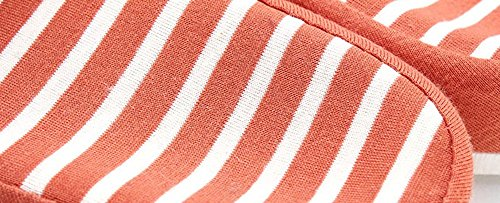 Seasons blue Times Bronze Cotton Four Slippers Unisex House navy Classic Wedge TM Stripe A O6gqgnI