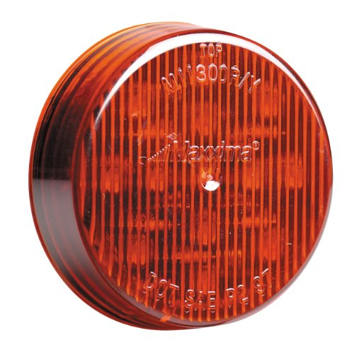 "Price comparison product image Maxxima M11300R Red 2-1/2"" Round Clearance Marker Light"