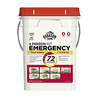 Augason Farms 72-Hour 4-Person Emergency Storage Food Kit