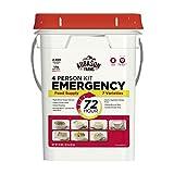 Augason Farms 72-Hour 4-Person Emergency Food Storage Kit 14 lbs 7 oz