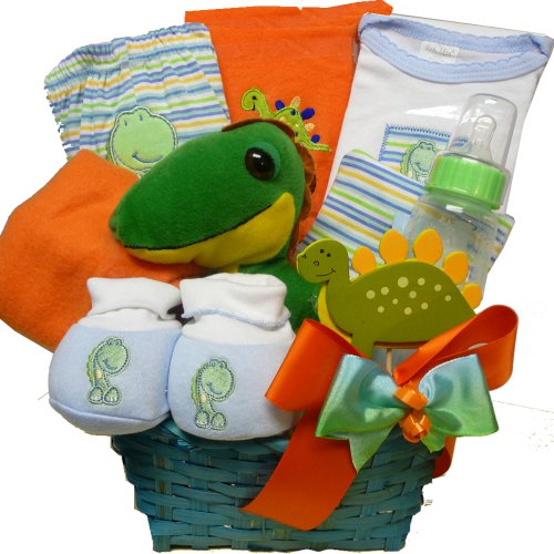 Art of Appreciation Gift Baskets Baby You're Dino-mite Gift Basket, Boy