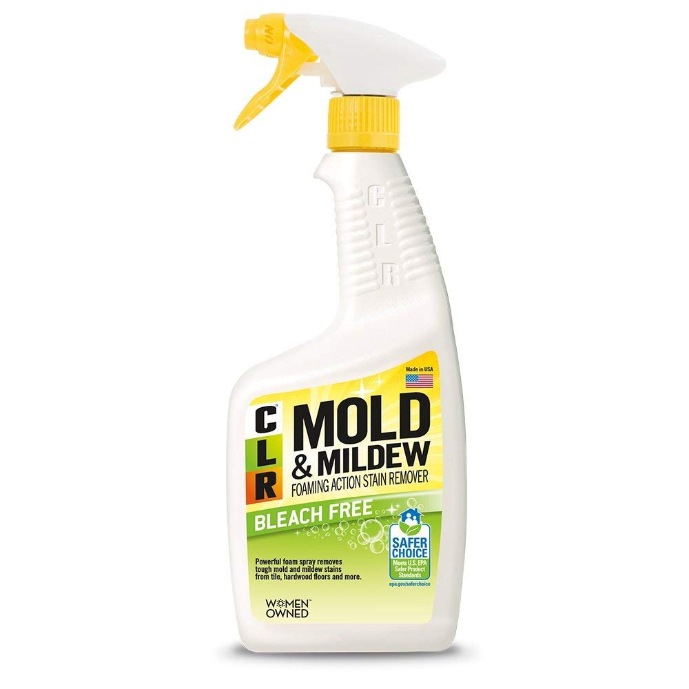 CLR PB-CMM-6 Mold and Mildew Stain Remover, 32 oz. Spray Bottle (12) by CLR